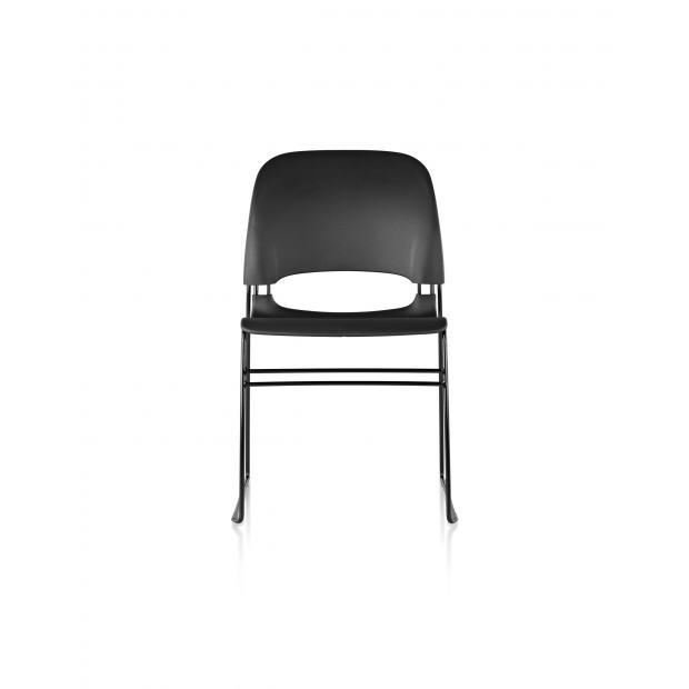 chaise limerick herman miller sans patin noir assise dossier noir. Black Bedroom Furniture Sets. Home Design Ideas