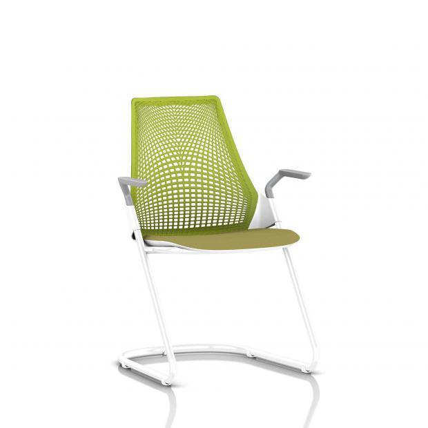 New sayl chair white for Suspension tissu