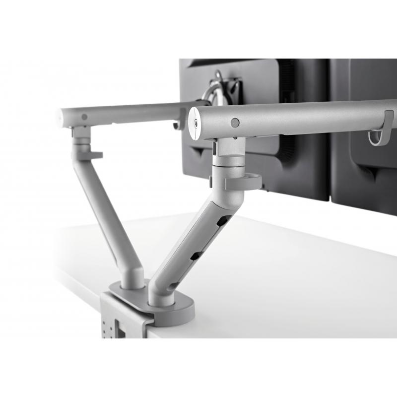 support d 39 cran flo pour 2 crans 3 9kg avec fixation double 0 71mm silver. Black Bedroom Furniture Sets. Home Design Ideas