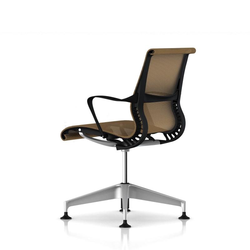 fauteuil setu herman miller h alloy structure graphite. Black Bedroom Furniture Sets. Home Design Ideas