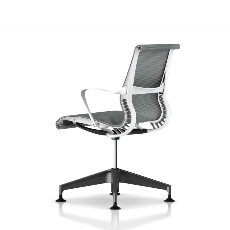 fauteuil setu herman miller graphite structure studio. Black Bedroom Furniture Sets. Home Design Ideas