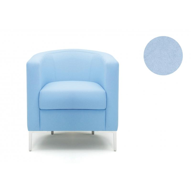 fauteuil oasis tub tissu bleu clair. Black Bedroom Furniture Sets. Home Design Ideas
