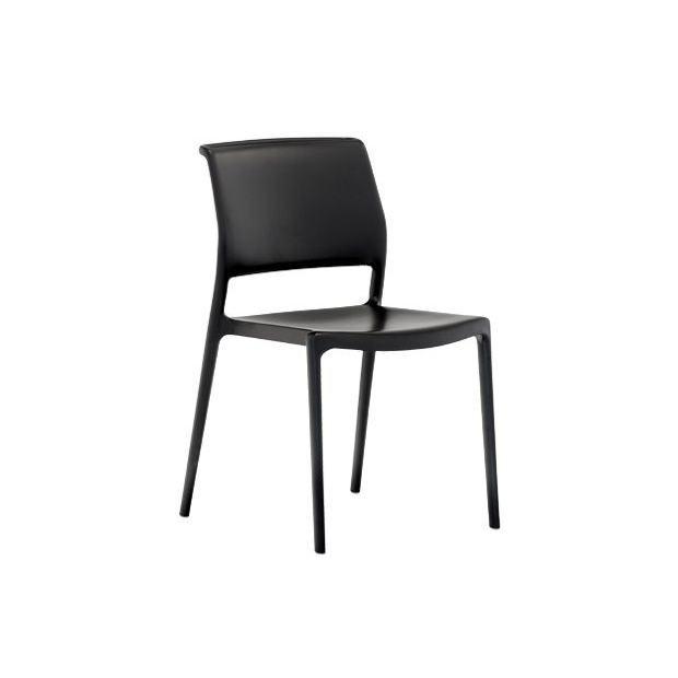 ARA 310 Pedrali chaise 4 pieds noir