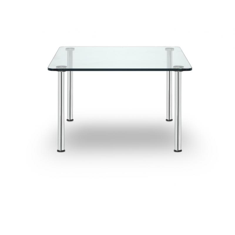 business class sitland table basse carr e verre transparent. Black Bedroom Furniture Sets. Home Design Ideas