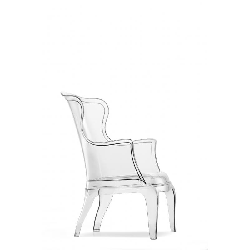 Pasha 660 Pedrali fauteuil Transparent mb2