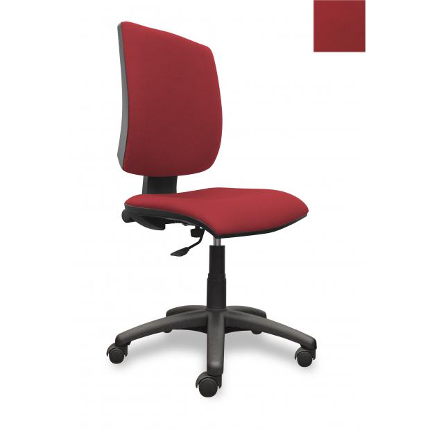 QUATTRO siège de bureau contact permanent - rouge