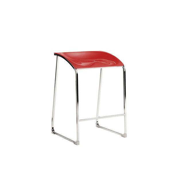 Arod 500 Pedrali Tabouret - Rouge