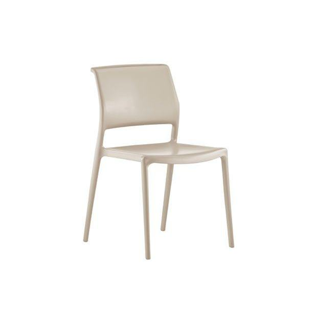 ARA 310 Pedrali chaise 4 pieds sable