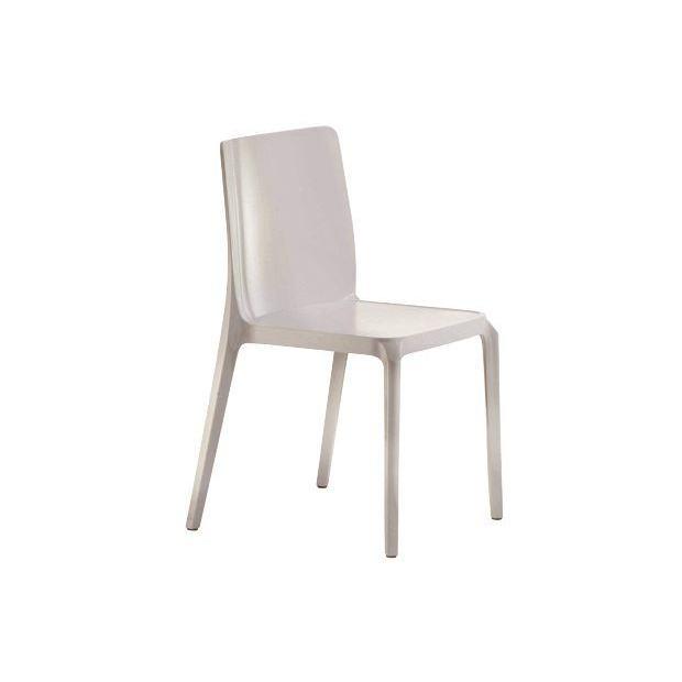 BLITZ 640 Pedrali Chaise 4 pieds Sable