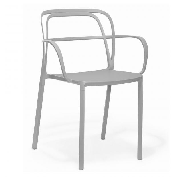 Intrigo 3715 Pedrali chaise 4 pieds - Beige