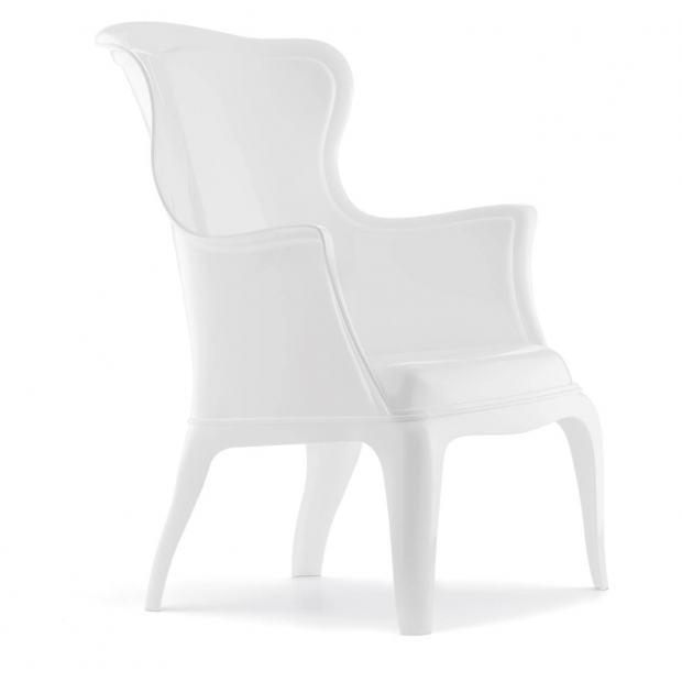 Pasha 660 Pedrali chaise 4 pieds blanche
