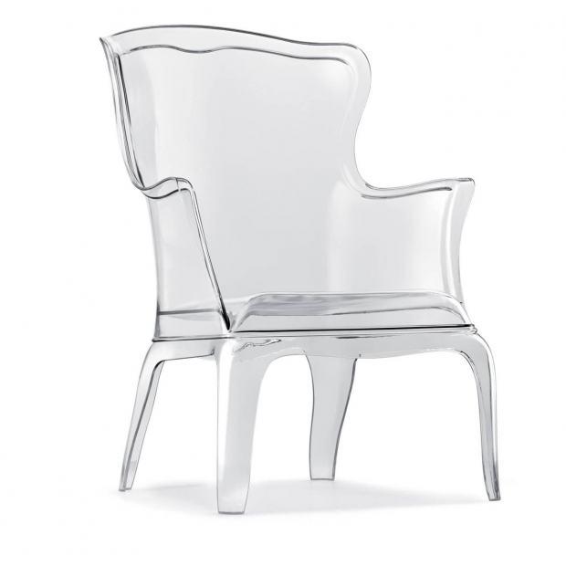 Pasha 660 Pedrali fauteuil - transparent