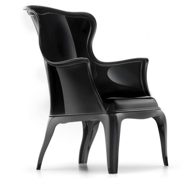 Pasha 660 Pedrali fauteuil - noir