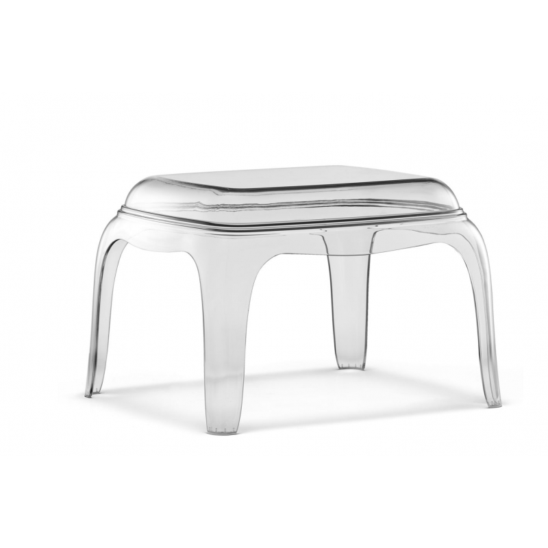 Pedrali Transparente Pasha Assise Lounge 661 Table Basse UGSpqzMV