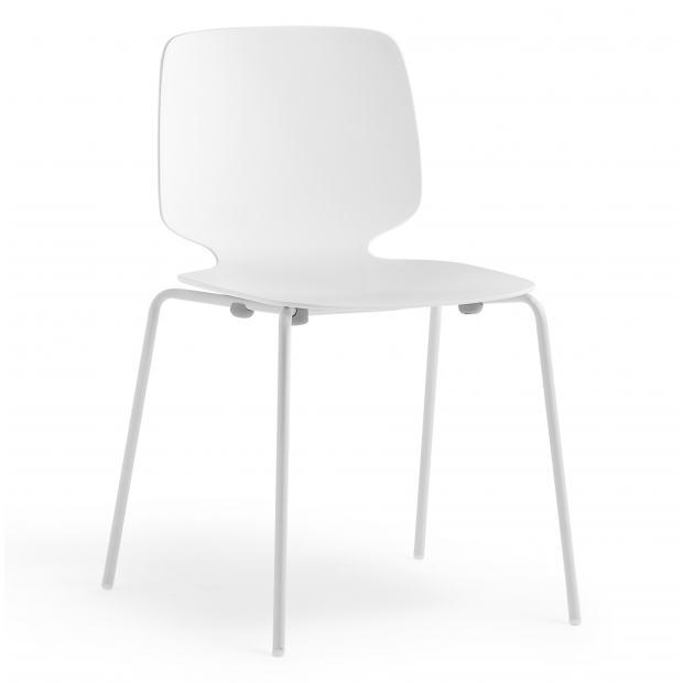 Babila 2730 PEDRALI - Chaise 4 pieds acier / Coque techno-polymère