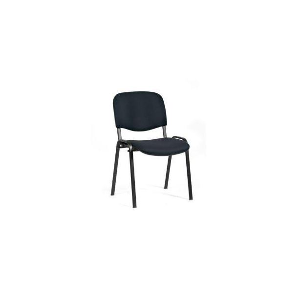 Chaise 4 pieds 161 - Assise et dossier capitonnés - Tissu
