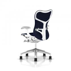 Fauteuil Mirra 2 Butterfly - Herman Miller - Piètement H-Alloy - Structure Studio White