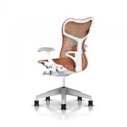 Fauteuil Mirra 2 Triflex - Herman Miller - Piètement Fog - Structure Studio White