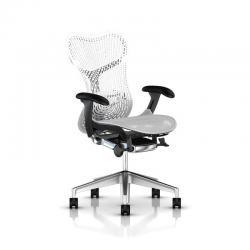 Fauteuil Mirra 2 Triflex - Herman Miller - Piètement Aluminium semi poli - Structure Graphite