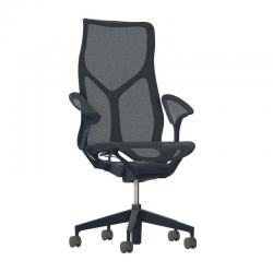 Fauteuil Cosm Herman Miller - Dossier haut - Dipped in Color Nightfall