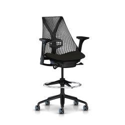 Sayl stool - Structure et Piétement noir