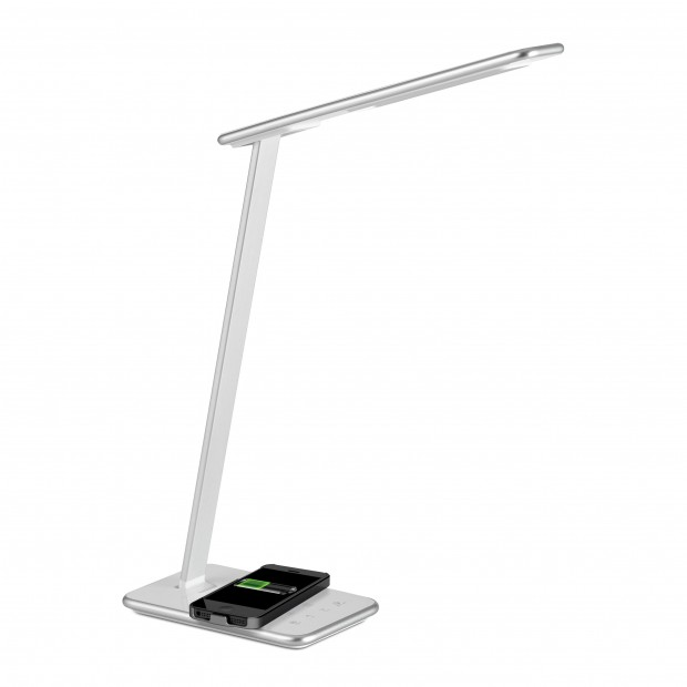 Lampe de bureau - Orbit Argent - Aluminor