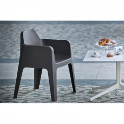 Plus 630 - Chaise design moulée avec accoudoris - Pedrali