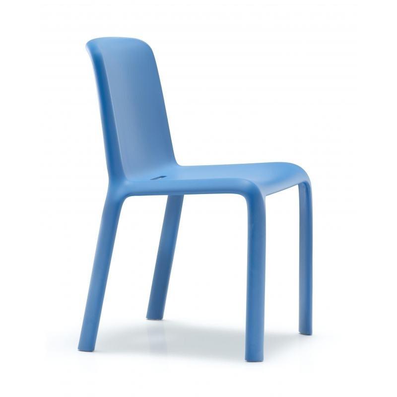 Chaise snow bleu