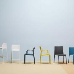 Volt 673 - Chaise 4 pieds Pedrali