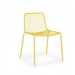 Nolita 3650 Pedrali chaise de terrasse 4 pieds dossier bas