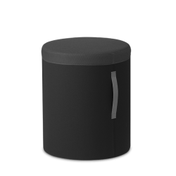 Pouf tissu - DODO gris - Hauteur 610mm - Sitland