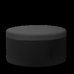 Pouf tissu - DODO gris - Hauteur 400mm - Sitland