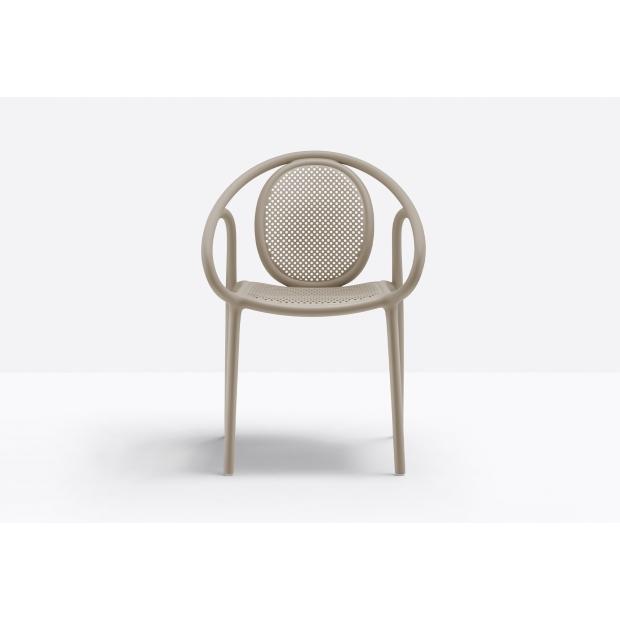 Remind 3735 - Chaise de terrasse large - Pedrali