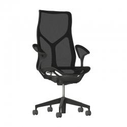 Cosm - Graphite - Herman Miller - Siège de bureau ergonomique