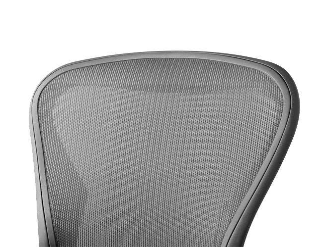 Dossier pellicule Aeron graphite