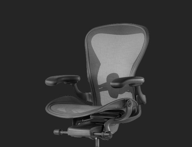 Aeron graphite