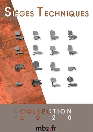sièges techniques dbo catalogue