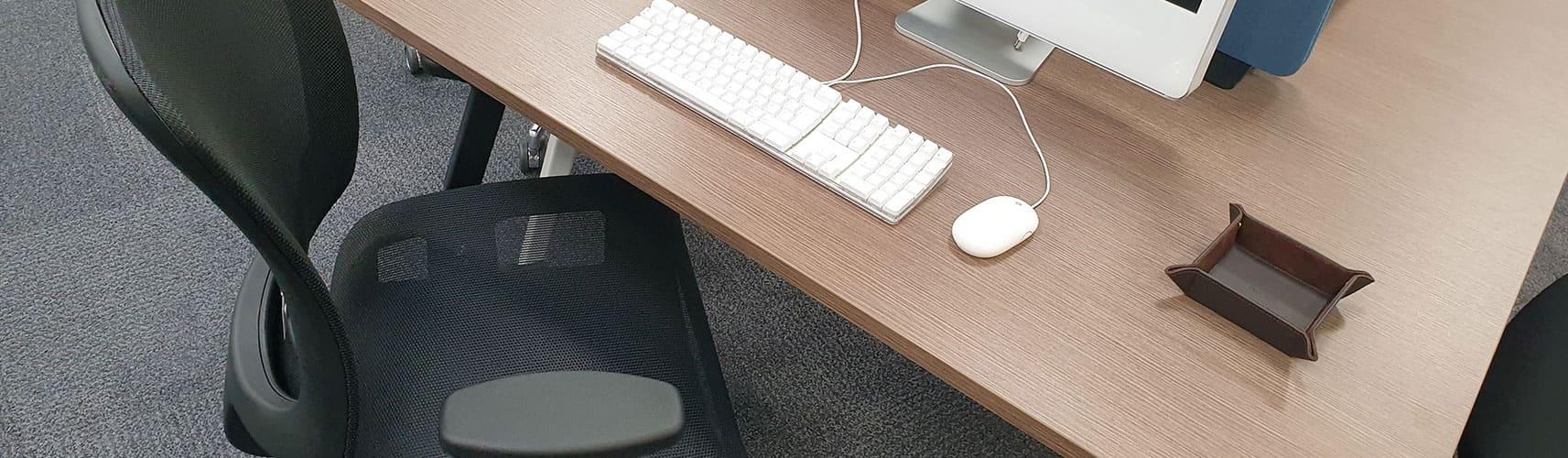 Fauteuil de bureau ergonomique avec accoudoirs réglables