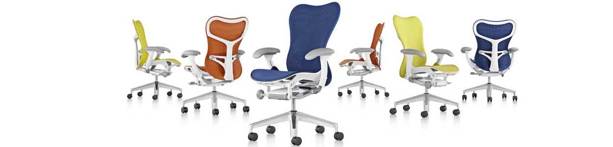 Design épuré du fauteuil Mirra 2