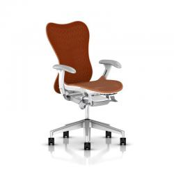 Mirra 2 Butterfly - Herman Miller - Piètement H-Alloy - Structure Studio White