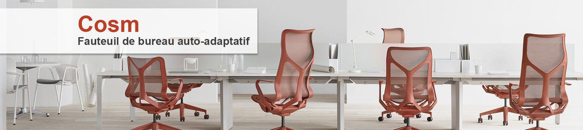 Achetez le nouveau fauteuil de bureau Cosm par herman Miller !