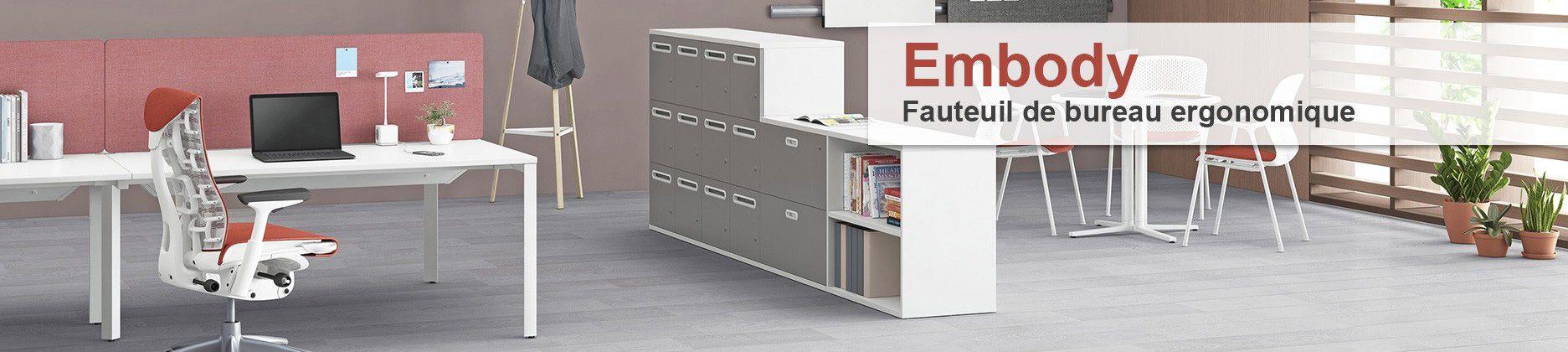 Asseyez-vous confortablement dans ce fauteuil de bureau ergonomique.